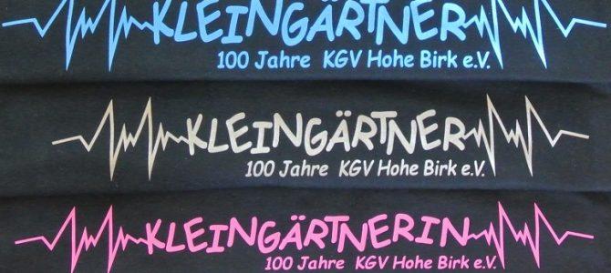 100 Jahre KGV Hohe Birk e.V. Accessoires